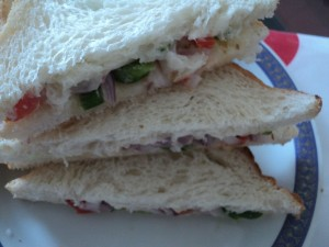 veg sandwitch